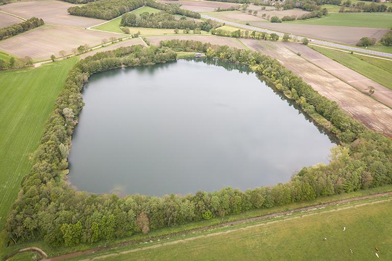 De ligging van CarpFarm Lake