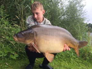 Foto vangsten CarpFarm Lake 2017 | 2